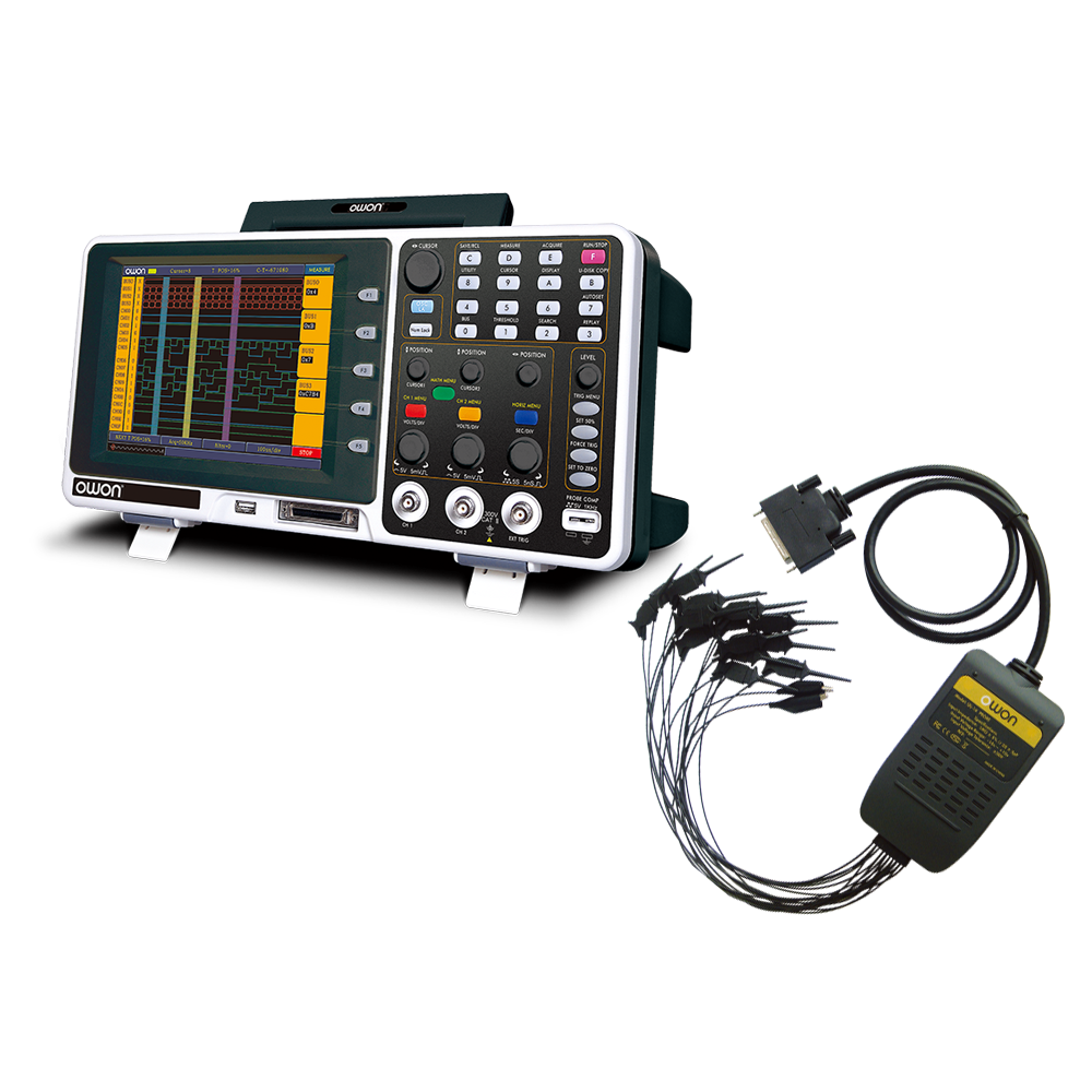 MSO Series LA with Digital Oscilloscope