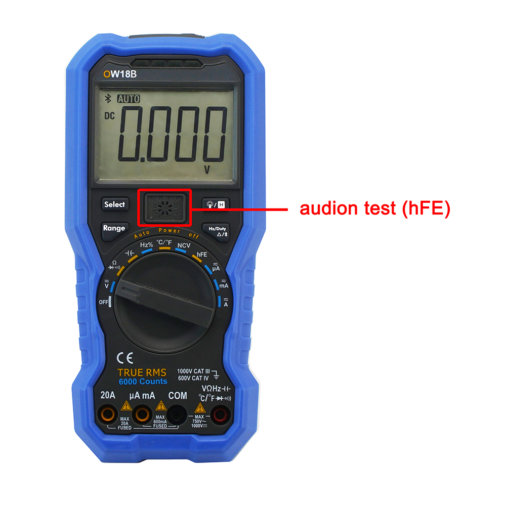 OWON 3 5/6  Digital Multimeter Audion Test Version